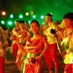 Điệu múa gáo dừa của người Khmer