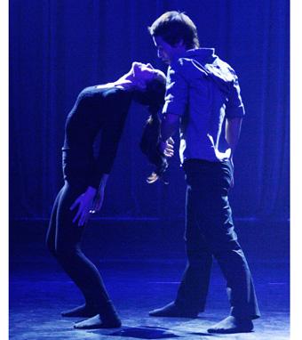 Vở múa Bản ngã của Nhà hát Giao hưởng nhạc vũ kịch TP.HCM gây chú ý  tại Liên hoan nghệ thuật múa TP.HCM lần 4 Ảnh: Gia Tiến
