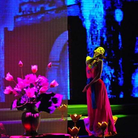 Một số hình ảnh đẹp của Nghệ sỹ múa Linh Nga trong tác phẩm Đào Liễu