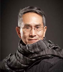 Chân dung biên đạo Lin Hwai Min, Ảnh: LIU Chen-hsiang