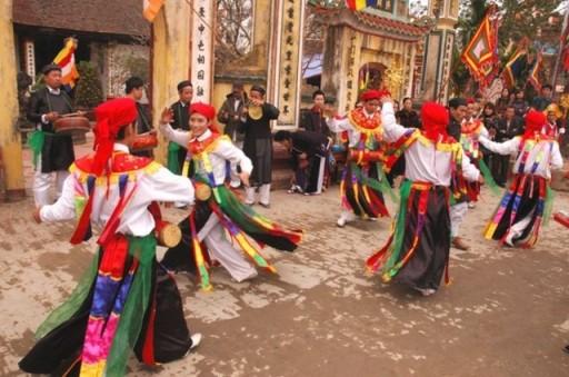 Điệu múa Bồng Triều Khúc.
