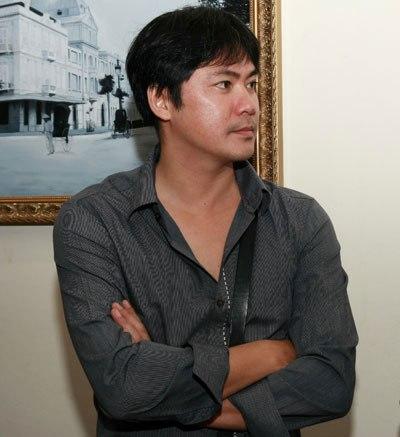 Chân dung nghệ sỹ Lê Vũ Long, Ảnh: VNE