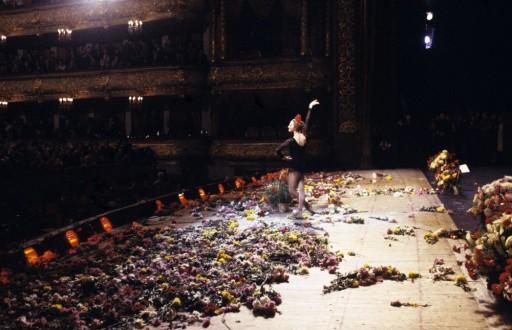 Nhà hát Bolshoi của Liên Xô. Chương trình biểu diễn kỉ niệm sinh nhật lần thứ 60 của Maya Plisetskaya.