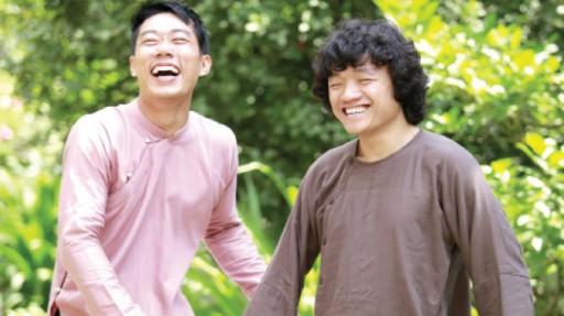 Ngọc Khải (trái) và Hồng Quang - Ảnh Sơn Trần