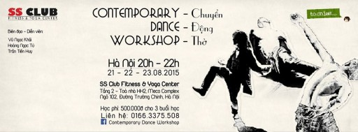 Contemporary Dance Workshop CHUYEn DONg tho