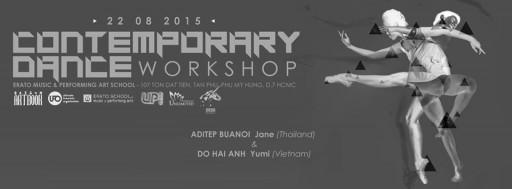 Contemporary Dance Workshop  Do Hai Anh   Aditep Buanoi