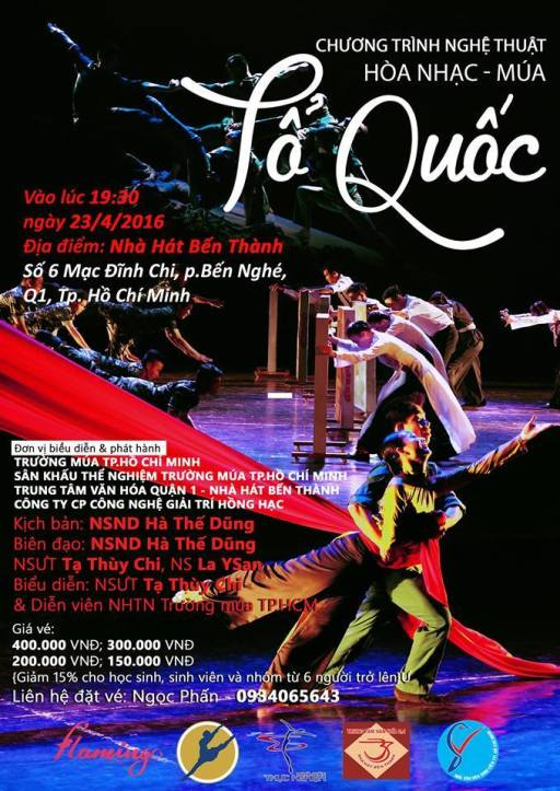 Poster mua To Quoc 2016