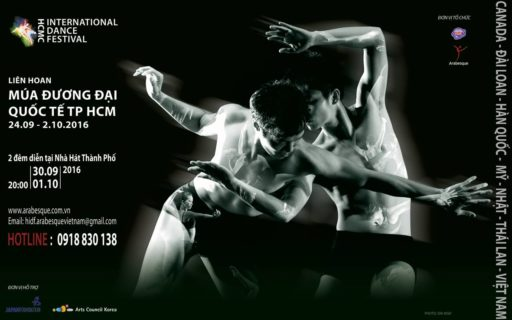 HCMC international dance festival 2016