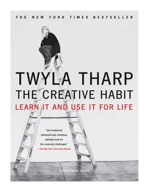 """Bìa của cuốn sách """"The Creative Habit"""" của biên đạo múa Twyla Tharp."""